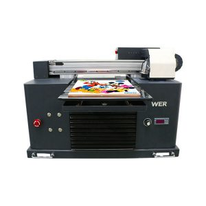 mini a3 flatbed uv printer untuk printer epson 1390 head 6 warna