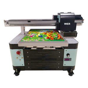 ukuran a2 uv flatbed printer untuk logam / kasus telepon / kaca / pena / mug