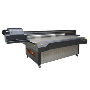 format besar kecepatan tinggi digital flatbed china uv printer untuk pencetakan kaca