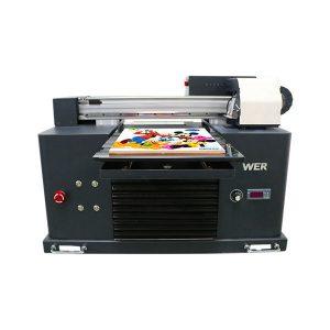 Flatbed akrilik bola golf mesin cetak inkjet printer kayu a4 uv printer