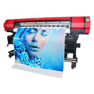 akurasi tinggi printer inkjet format besar dengan print head dx7 ganda harga bagus