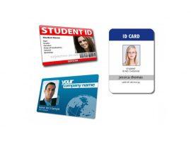 Kartu ID data variabel