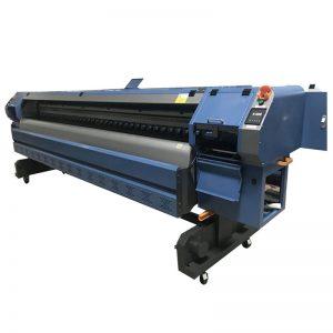 kecepatan tinggi 3,2 m printer pelarut, mesin cetak spanduk digital flex K3204I